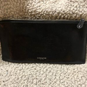 Coach Single Pocket Clutch